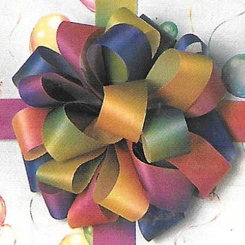 Leisure Arts Bow Making Made Easy Patti Sowers Gift Wrapping Idea Book Puffy Bow Special Occasion Wrap Wedding Decor
