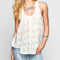 O'neill Mon Amie Womens Top Cream  In Sizes