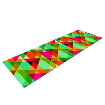 Rainbow Geometry Yoga Mat