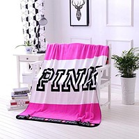 """""""Victoria's Secret"""" Popular Conditioning Throw Blanket Quilt For Bedroom Living Rooms Sofa Rose Red"""
