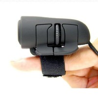 2-button Ergonomic USB 800dpi Optical Finger Mouse