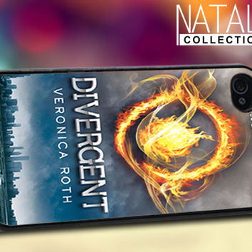 Divergent - iPhone 4/4s/5 Case - Samsung Galaxy S3/S4 Case - Blackberry Z10 Case - Ipod 4/5 Case - Black or White