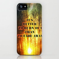 Sunset and the frost  iPhone Case by Armine Nersisyan | Society6