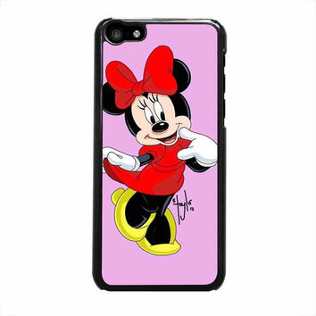 minnie mouse iphone 5c 5 5s 4 4s 6 6s plus cases