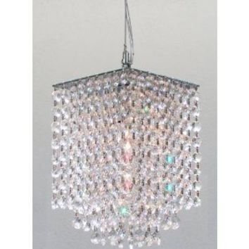 "Modern Contemporary Crystal Pendant Chandelier Lighting H 9"" X W 6"""