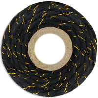Chunky Black/Gold Bakers Twine