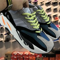 Jacklish Adidas Yeezy Wave Runner 700 Solid Grey/chalk White/core Black For Sale