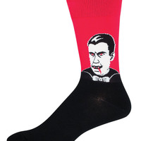 Socksmith Mens Dracula Crew Length Socks