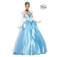 Walmart: Women's Disney Deluxe Princess Cinderella Ball Gown Costume - Size S
