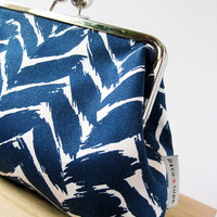 Blue Crush clutch by PacoandLupe on Etsy