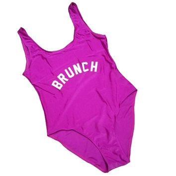 BRUNCH Women's One Piece Swimsuit