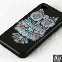 Owl Symbol iPhone 4S/4 Case,iPhone 5 Case,iPod Touch 5 and 4 Case,and Samsung Galaxy Phone Case