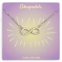 Pavé Infinity Short-Strand Necklace