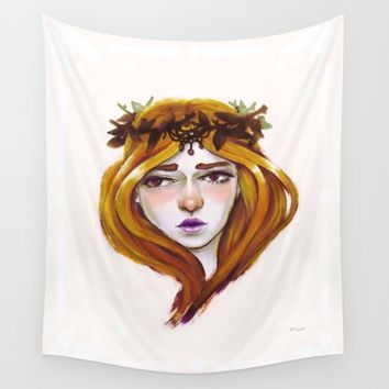Peace Wall Tapestry by Ben Geiger