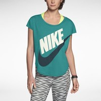 Nike Signal Women's T-Shirt - Turbo Green