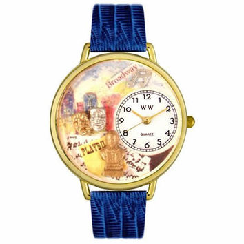 Drama Theater Watch in Gold (Large)