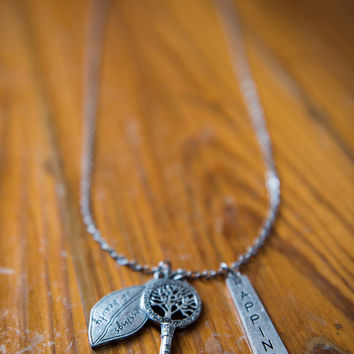 Brushed Silver Timeless Necklace