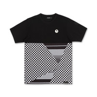 Visions Tee in Black – Pink+Dolphin