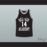 The Fresh Prince of Bel-Air Will Smith Bel-Air Academy Basketball Jersey