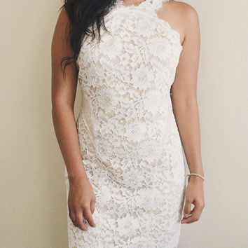 Ireland Bodycon Lace Dress