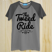 "New ""Tweed Ride: Cycle Ride a Bite Your Style"" / Vintage / Bicycle T-shirt / Cycling T-Shirt  / Unisex / Men Shirt"