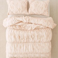 Rita Floral Ruffle Comforter | Urban Outfitters