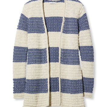 Women's Signature Cotton/Linen Boyfriend Cardigan | Free Shipping at L.L.Bean