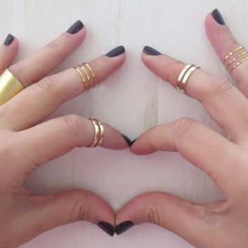 Best Custom Knuckle Rings Products on Wanelo