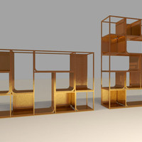 KME Copper View Shelf | Ferruccio Laviani | single shelves at Stylepark