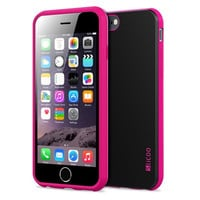 iPhone 6 Case, TPU Rubber and Plastic Protective Case for iPhone 6 (4.7 Inch) (Red)