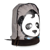 Blue Banana Panda Backpack (Grey) | Blue Banana UK