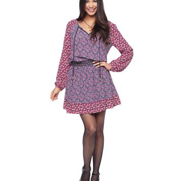 Factory Girl Ditsy Daisy Combo Factory Girl Ditsy Peasant Dress by Juicy Couture,