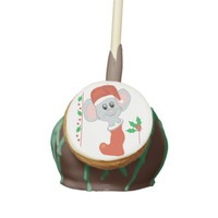 Christmas Mouse Cake Pop
