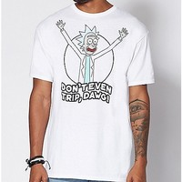 Don't Even Trip Dawg T Shirt - Rick and Morty - Spencer's