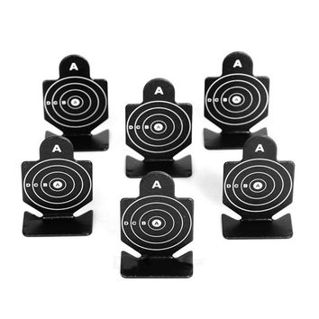 Aluminum Alloy Round Shaped Shooting Practice Targets for BB Gun