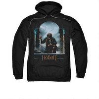 The Hobbit: The Battle of the Five Armies Bilbo Theatrical Poster Adult Black Hoodie | WBshop.com | Warner Bros.