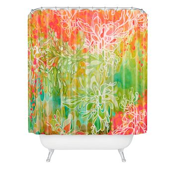 Stephanie Corfee Hanging Gardens Shower Curtain