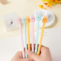 0.38mm Candy Color Cute Cartoon My Neighbor Totoro Gel Ink Pen Kawaii Writing Signature Pen Escolar Papelaria School Supply