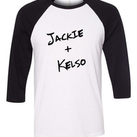 "That 70's Show ""Jackie + Kelso"" Baseball Tee"