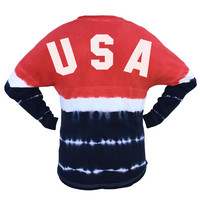 USA Tie Dye Game Day Jersey