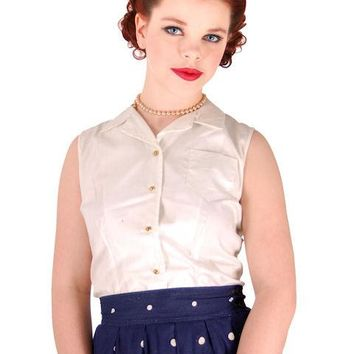 """Vintage Girls Blouse Shirley Temple Original Hang Tags Never Worn 34"""" Bust"""