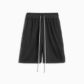 roaming gym short / black