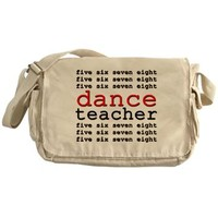 Dance Teacher Messenger Bag