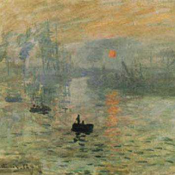 Impression: Sunrise Poster by Monet