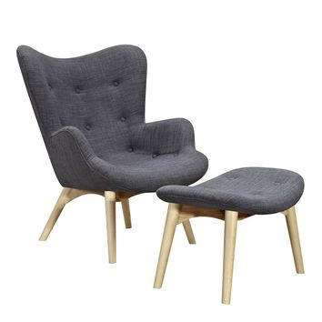 Aiden Chair Charcoal Gray