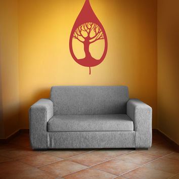 Vinyl Wall Decal Sticker Tree in Leaf #OS_MB362