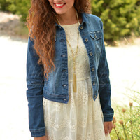 JACK AND DIANE JEAN JACKET