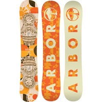 Arbor Cadence Snowboard - Women's One Color,