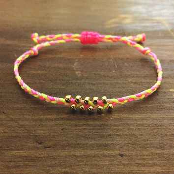 Braided Best Friend Gift - Friendship Bracelet - Best Friend Bracelet - Braided Bracelet - Boho Jewelry - Woven Bracelet