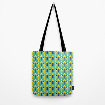 Digital Love Tote Bag by lalainelim